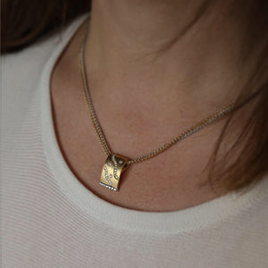 Bespoke 18K Two Tone Necklace