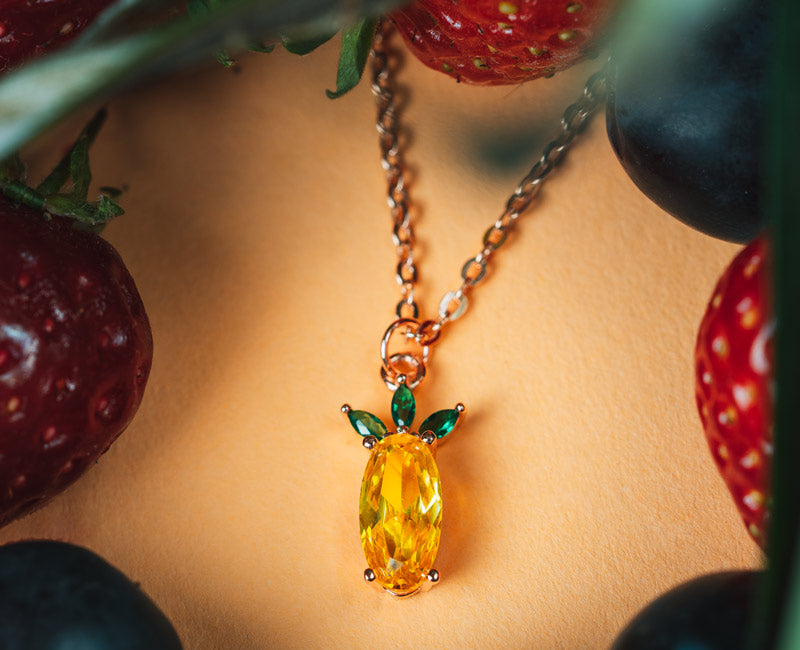 """Pineapple"" - Necklace"