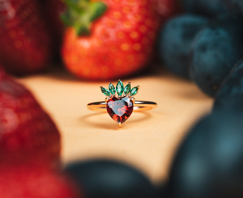 """Strawberry"" - Ring"