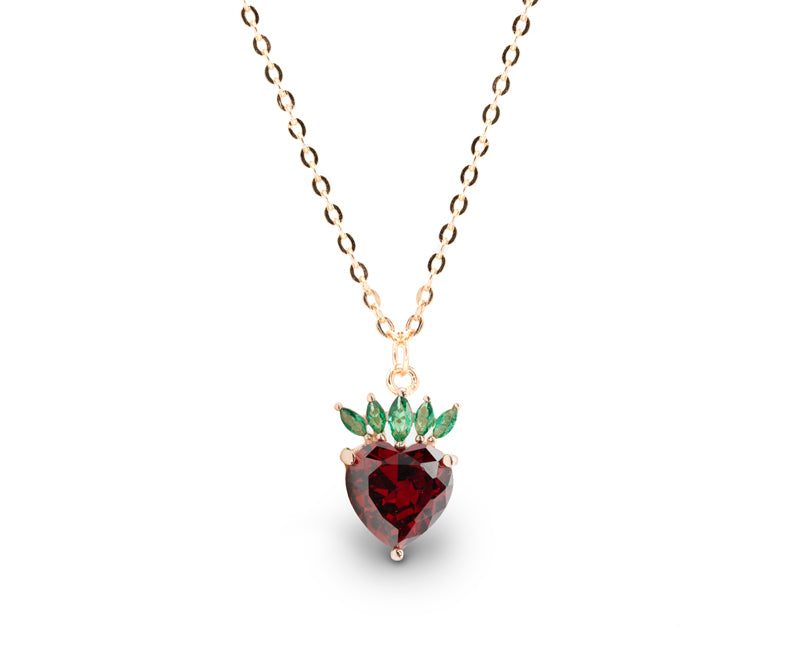 """Strawberry"" - Necklace"