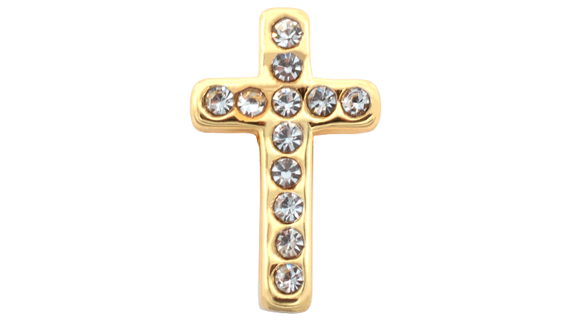 "*NEW* ""Diamond Cross"" Charm"