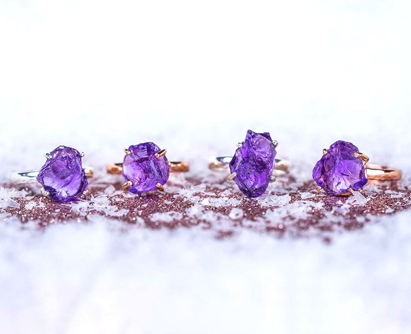 Amethyst - Gemstone Ring