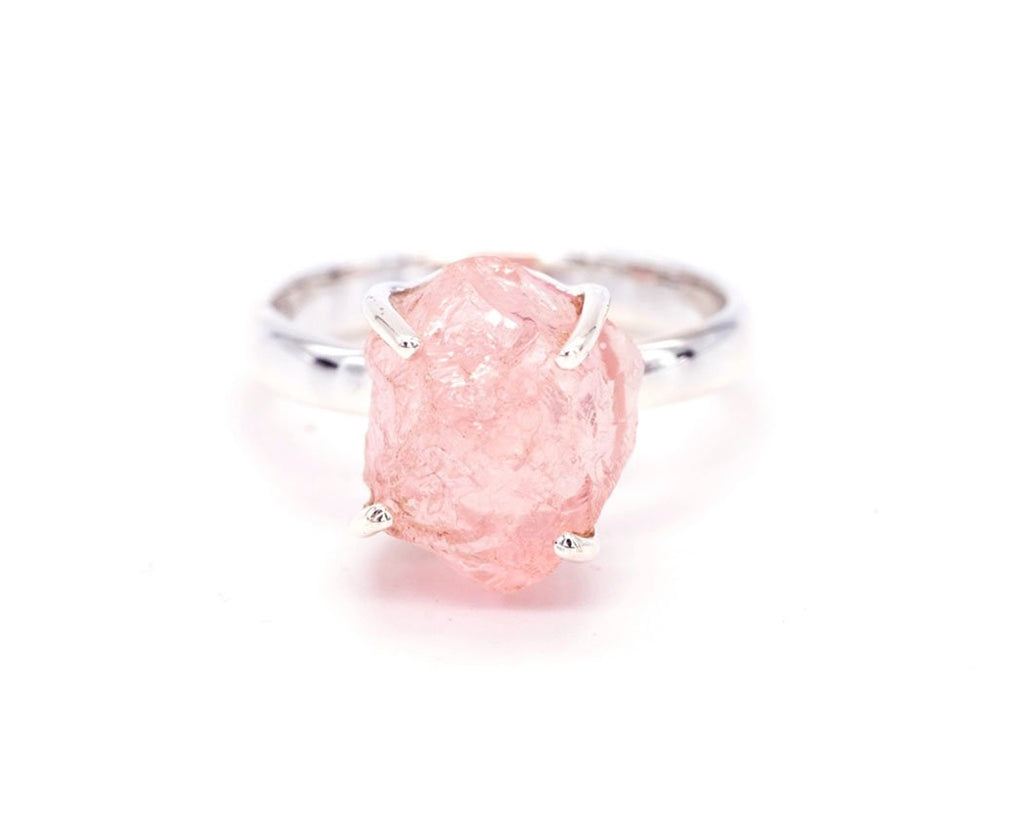 Rose Quartz - Gemstone Ring