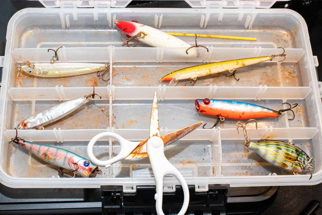 How to Stop Fish Hooks from Rusting