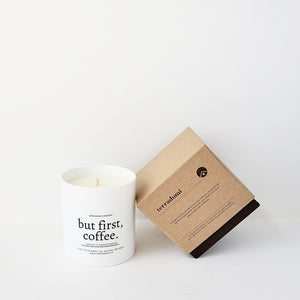 BUT FIRST, COFFEE Candle | Espresso & Roasted Hazelnut