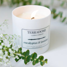 Load image into Gallery viewer, Eucalyptus & Jasmine Candle