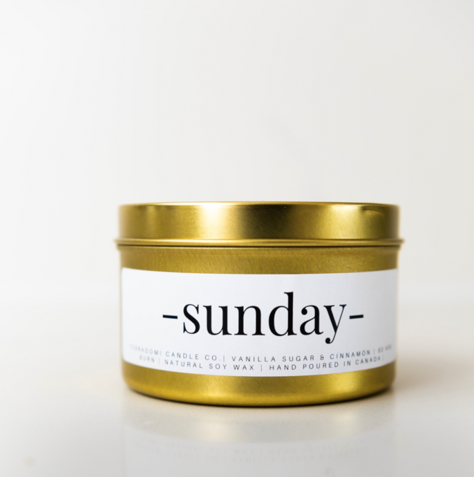Sunday Candle - Toronto Candles