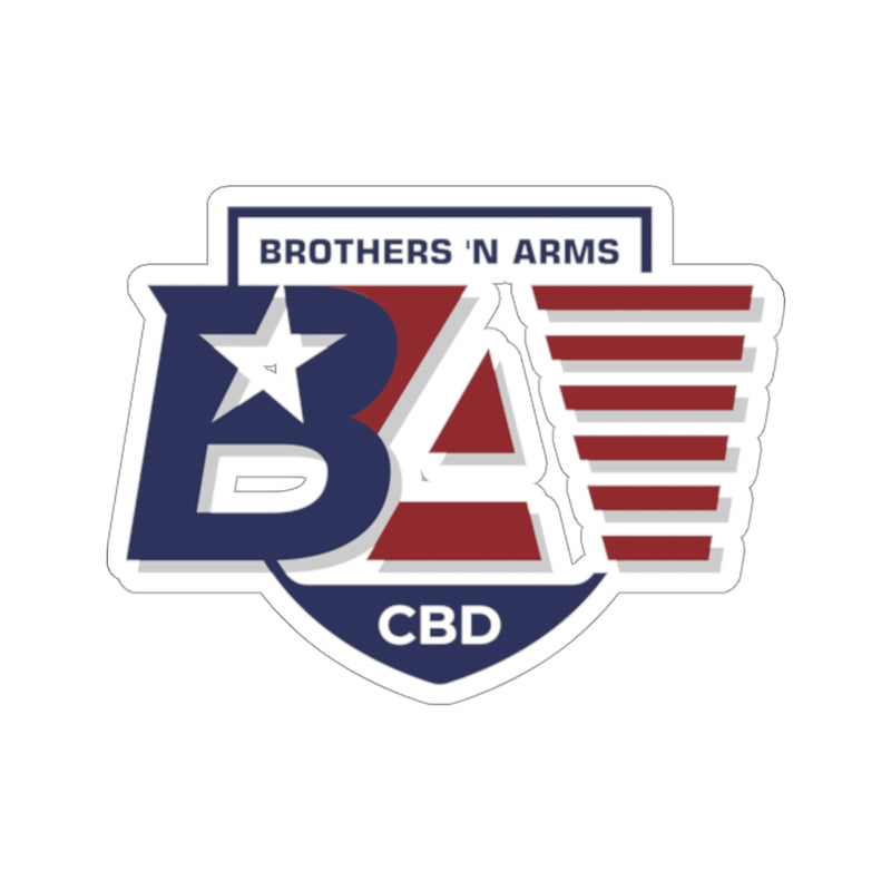 BNA Kiss-Cut Stickers - The Brothers N Arms