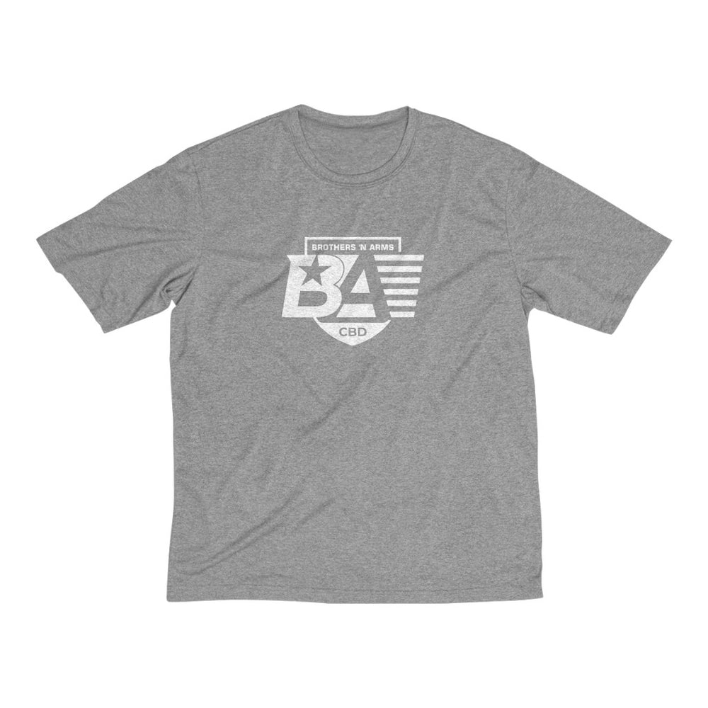 BNA All Day Dri-Fit Tee - White - The Brothers N Arms