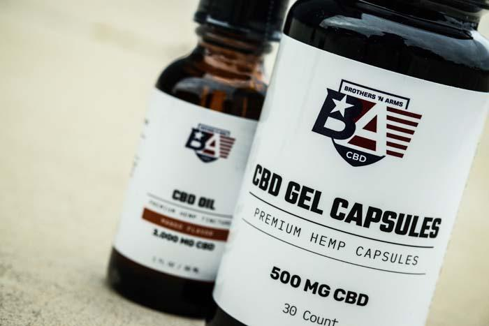 Beyond Vitamin M CBD Gel Capsules - The Brothers N Arms