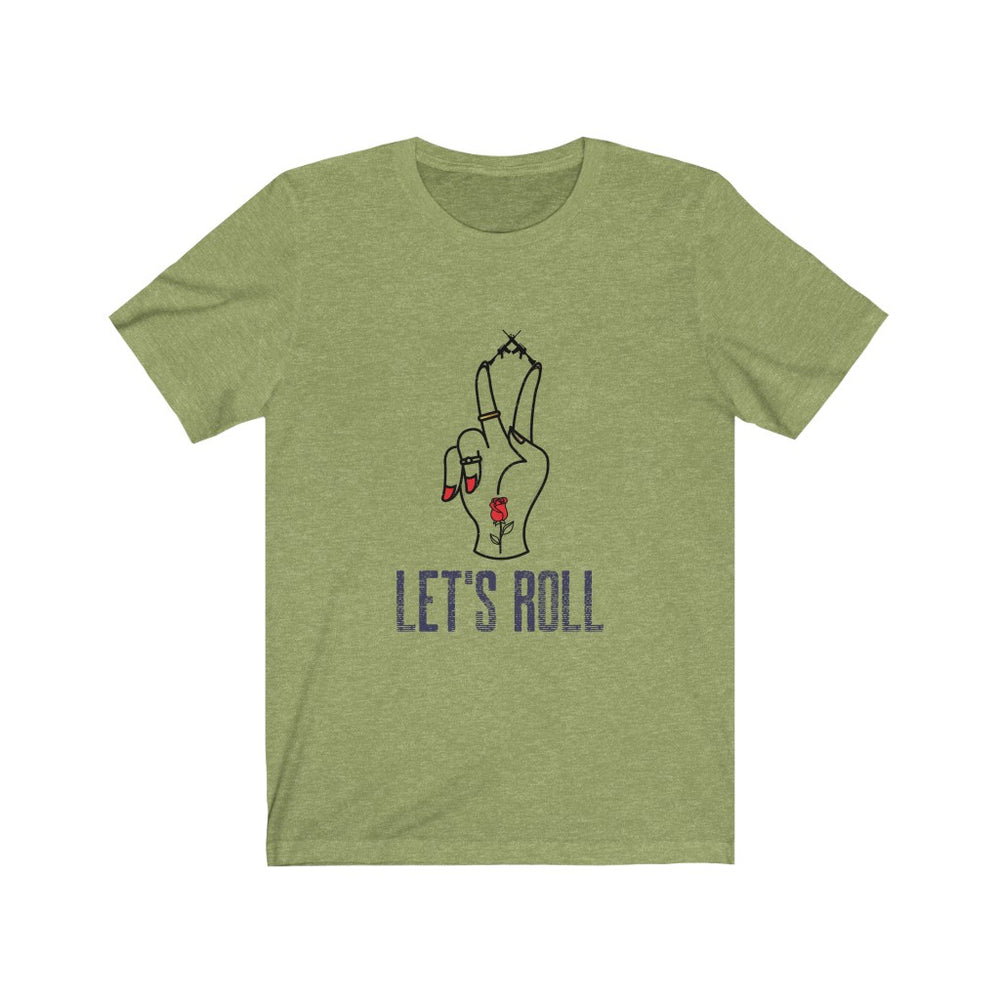 """Let's Roll"" Short Sleeve Tee - The Brothers N Arms"