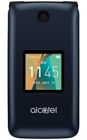Alcatel Cingular Flip 2 4G LTE FlipPhone Bluetooth WIFI MP3 Camera Good for Elderly - GSM Unlocked