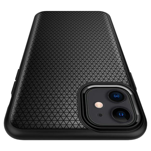 Spigen Liquid Air Armor Designed for Apple iPhone 11 Case (2019) - Matte Black