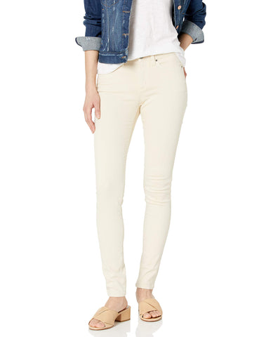 Amazon Brand - Daily Ritual Women's 5-Pocket Skinny Jean All Colors, plaster, 28 Short