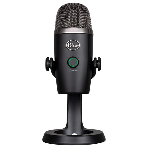Blue Yeti Nano Premium USB Mic for Recording and Streaming-Blackout, (988-000400)