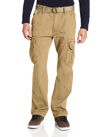 Unionbay Men's Survivor Iv Relaxed Fit Cargo Pant - Reg and Big and Tall Sizes, rye, 52x32