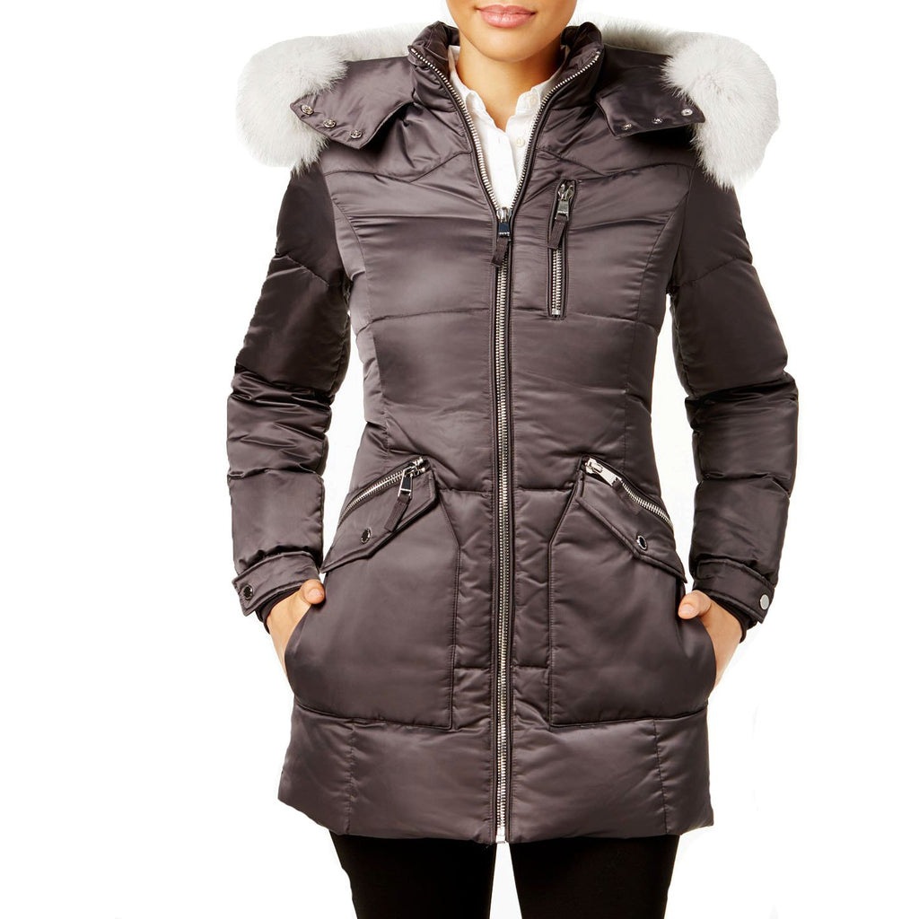 1 Madison Expedition Down Coat with Fox Fur