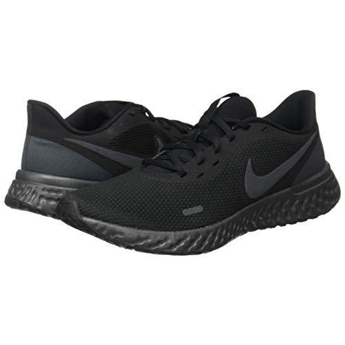 Nike Men's Revolution 5 Running Shoe, Black/Anthracite, 8.5 Regular US