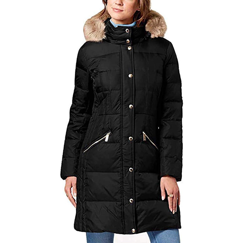 Michael Kors Down Coat with Fur Hood