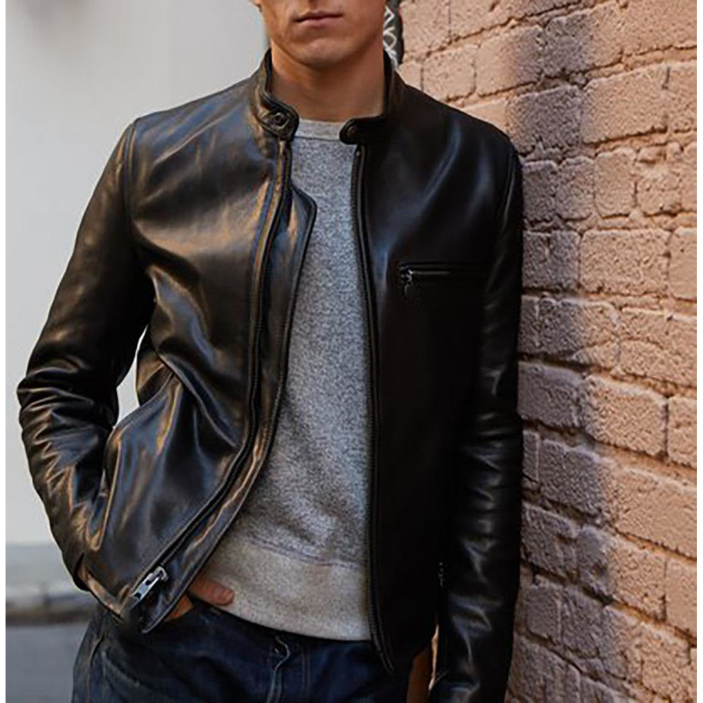 Mason & Cooper Cafe Racer Leather Jacket