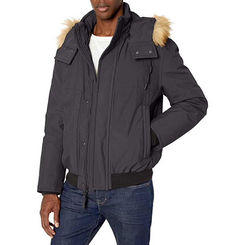 Marc New York Men's Puffer Bomber Jacket