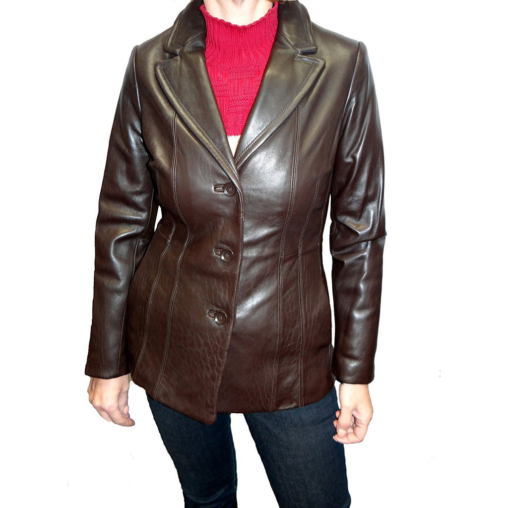 Avanti Leather Blazer