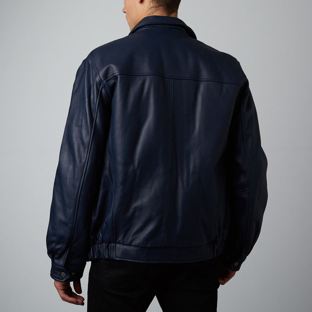 Mason & Cooper Walden Leather Bomber Jacket