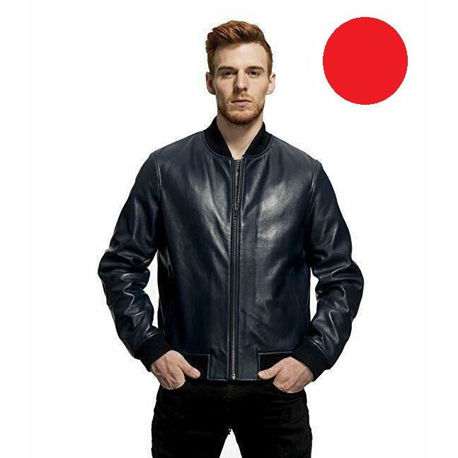 Mason & Cooper Marshal Leather Jacket RED