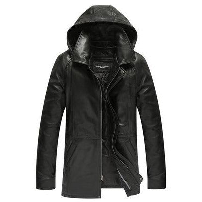Mason & Cooper Sulton Leather Coat