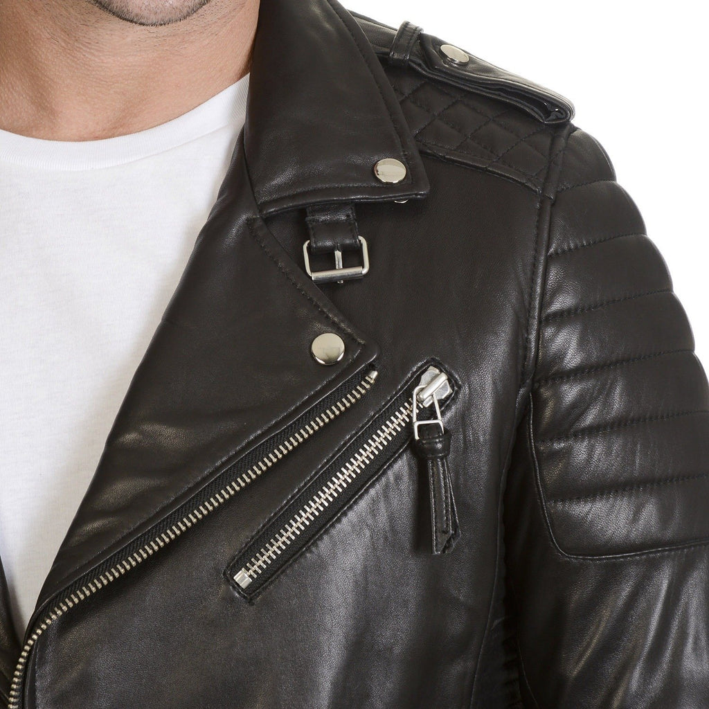 Mason & Cooper Moto Leather Jacket