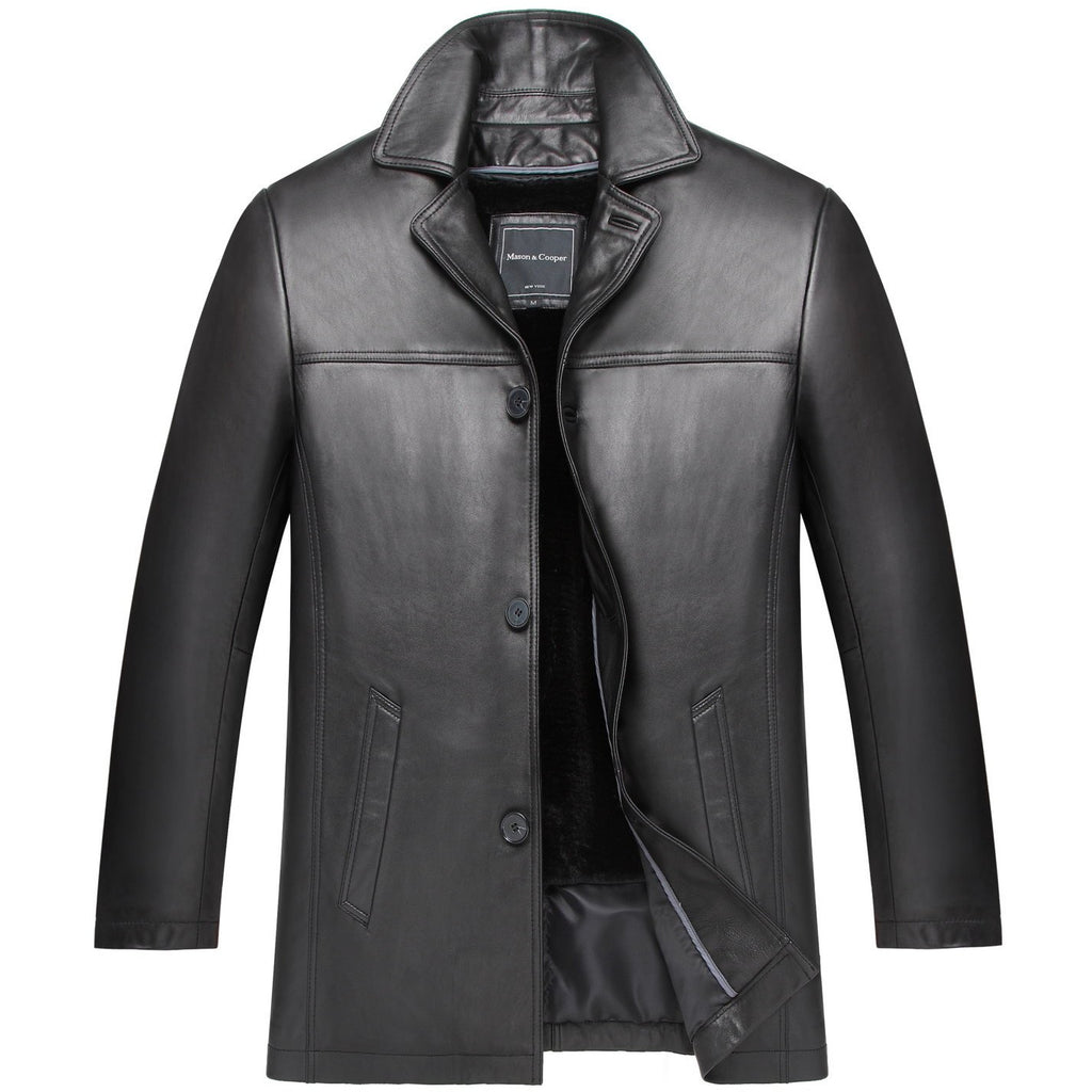 Mason & Cooper Brasco Leather Jacket