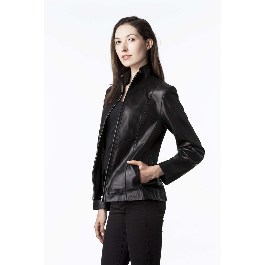 Mason & Cooper Lyanna Moto Leather Jacket