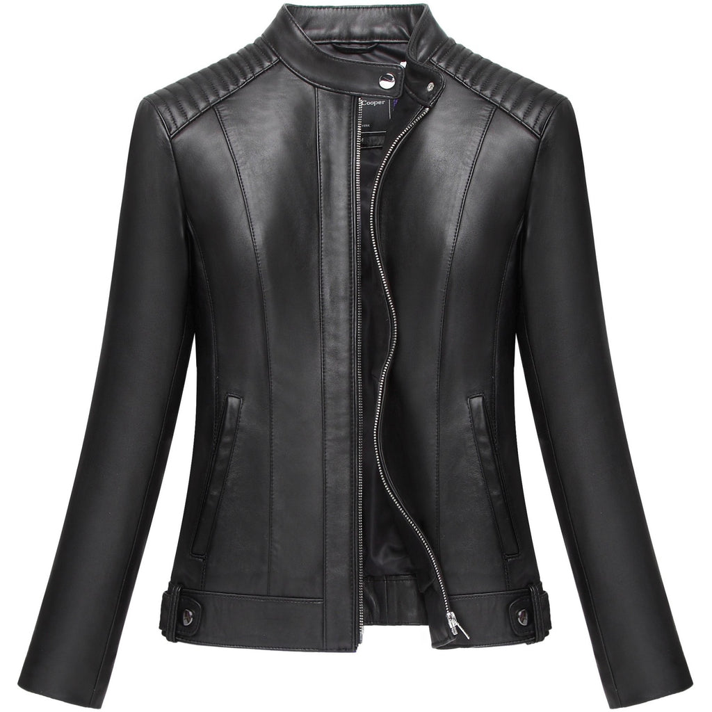 Mason & Cooper Women's Moto Leather Jacket