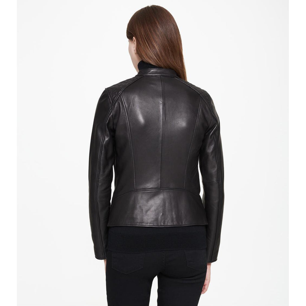 ANDREW MARC Goldie Leather Jacket