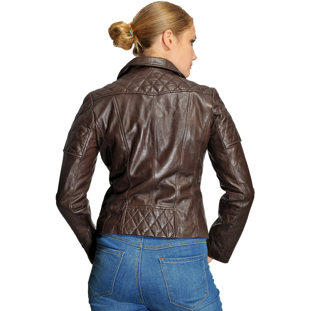 Michael Kors Plus Size Moto Leather Jacket