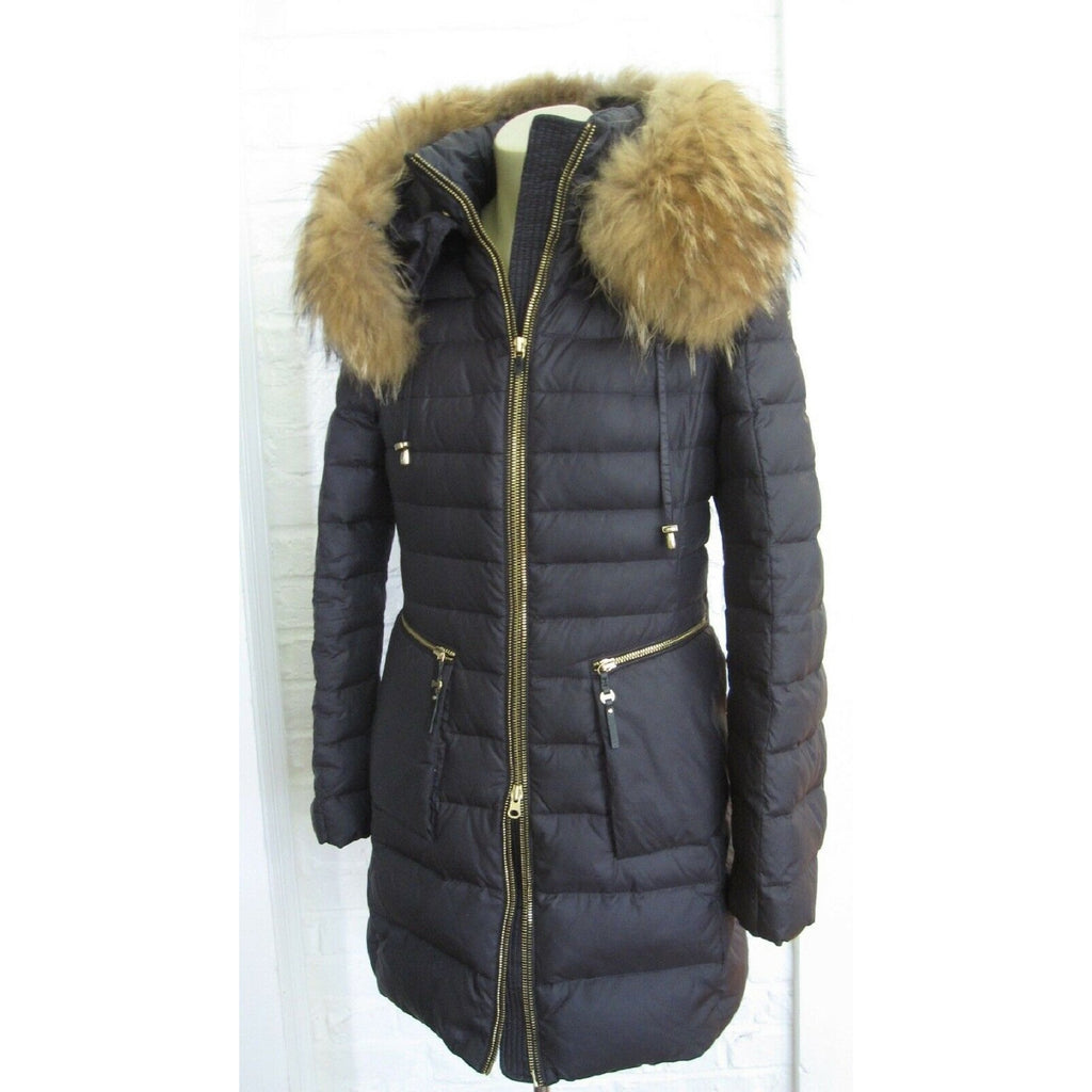 TOWMY Down Coat with Natural Fur