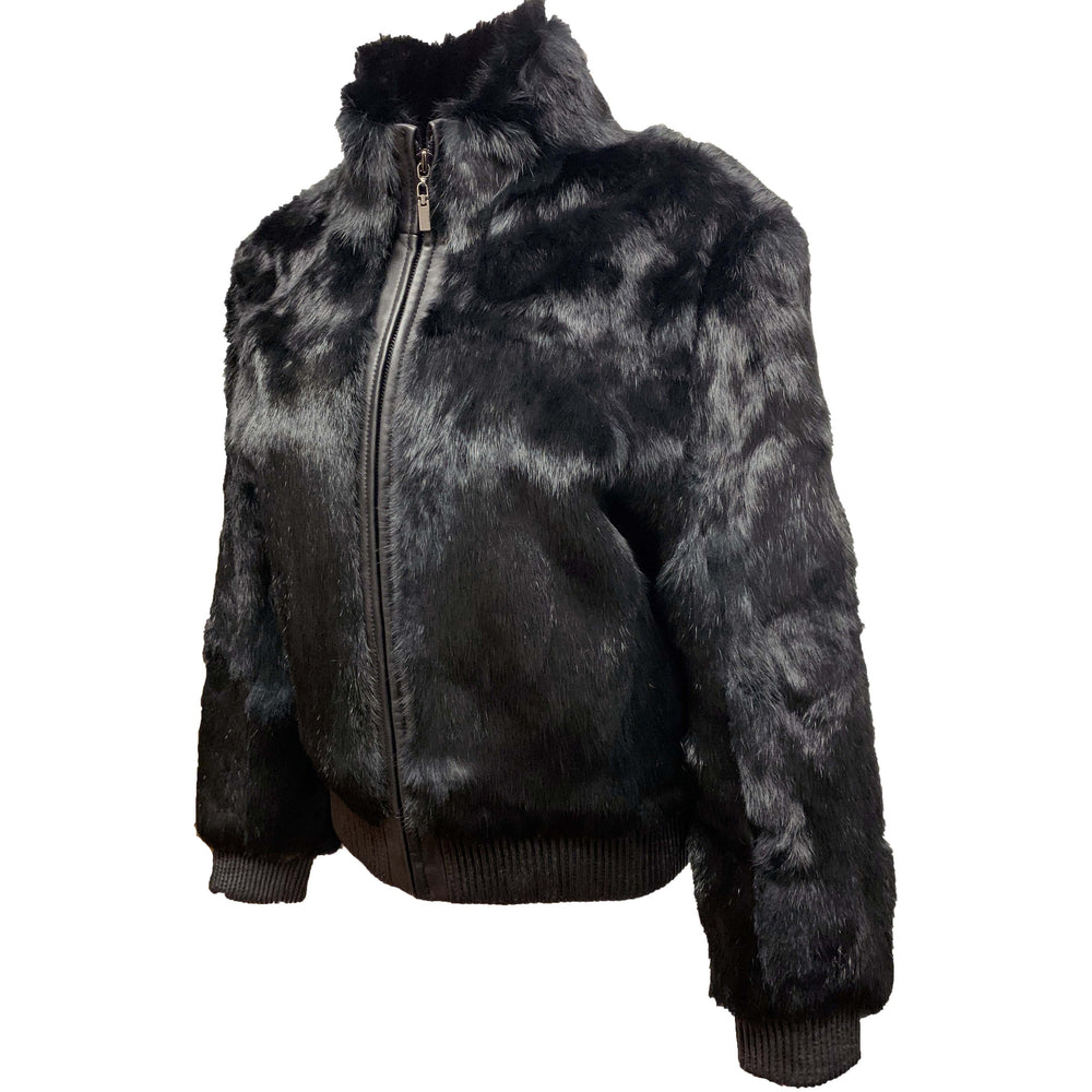 Tanners Avenue Real Rabbit Fur Jacket