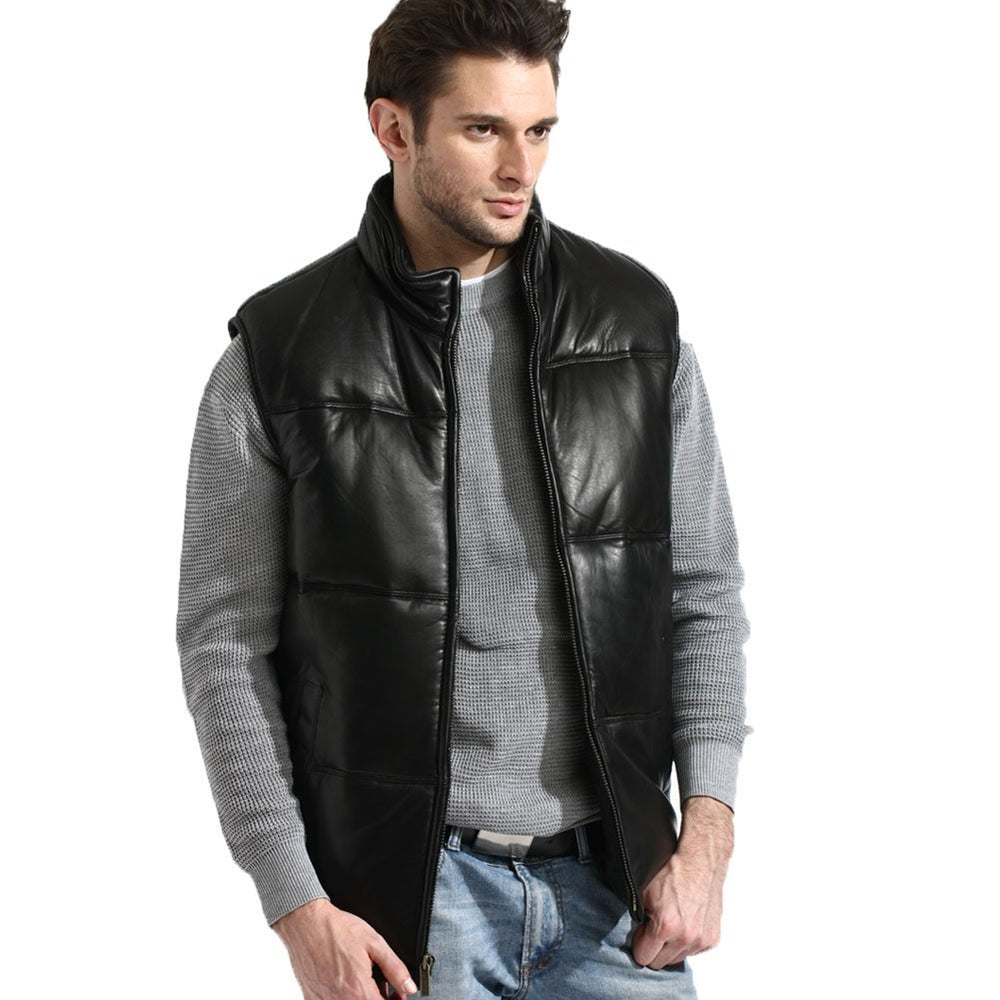Tanners Avenue Lambskin Leather Vest