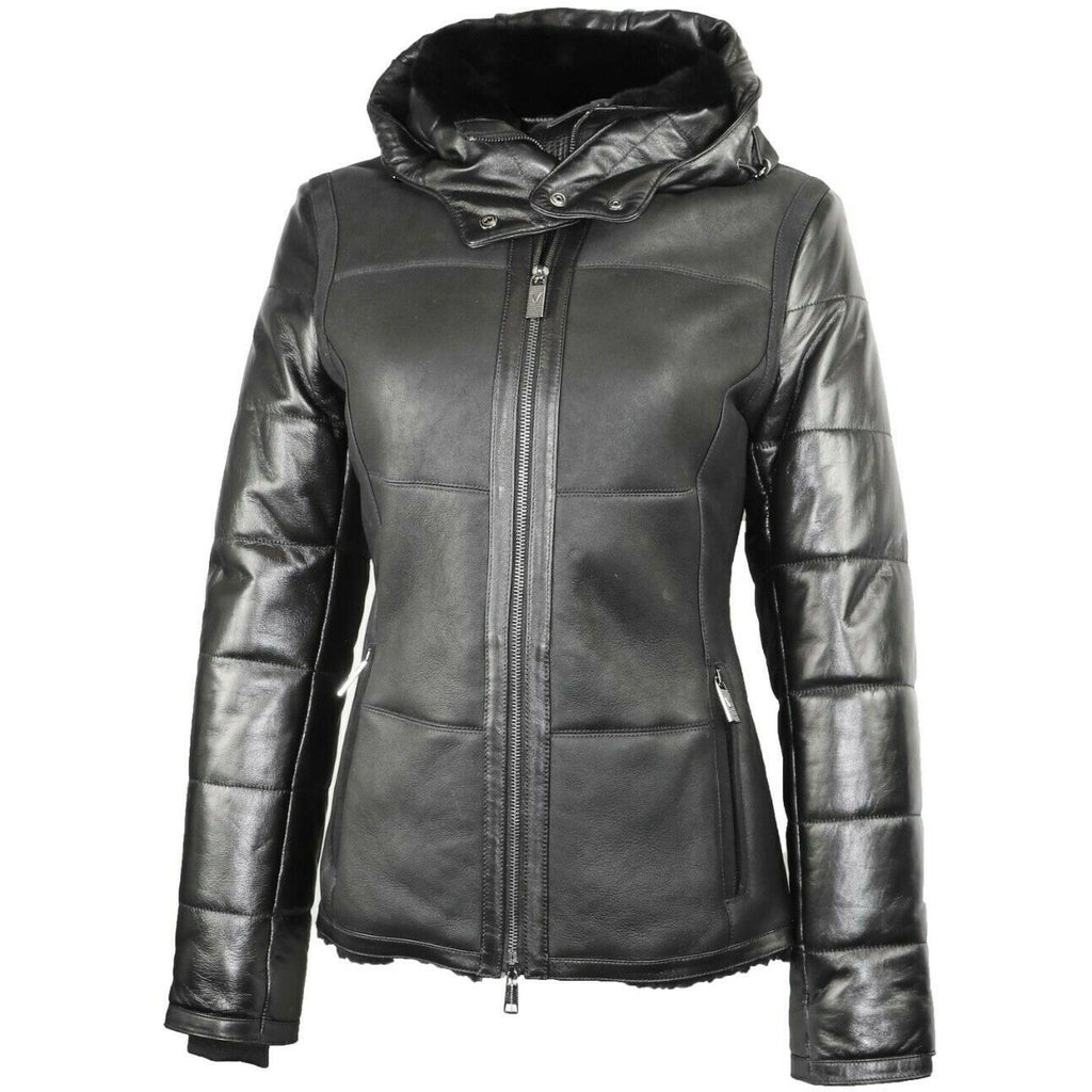 Via Veneto Women's Shearling Jacket