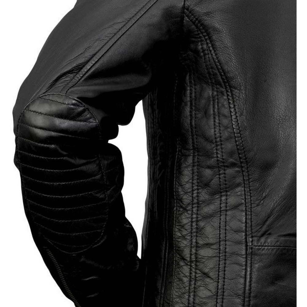 Whet Blu Maddox Mens' Hooded Leather Jacket
