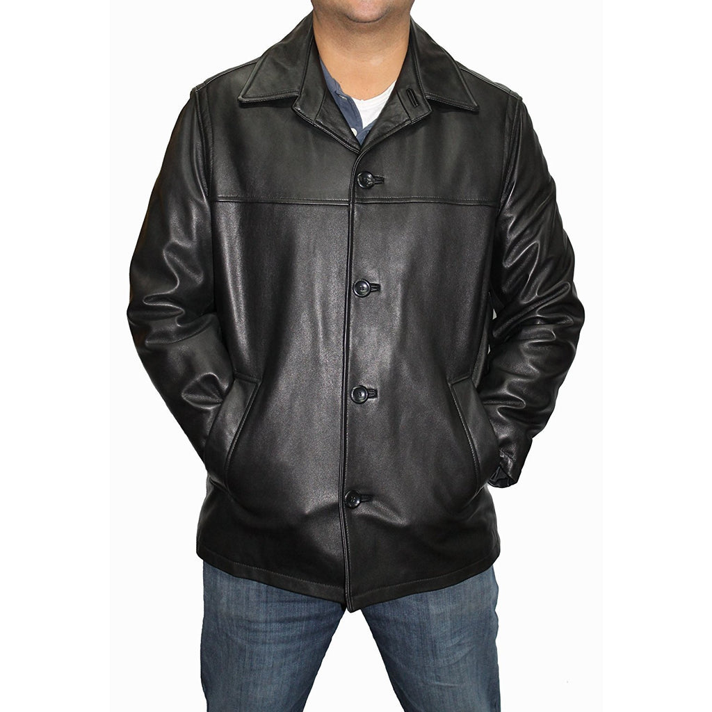 Alfani Men's Brasco Leather Jacket