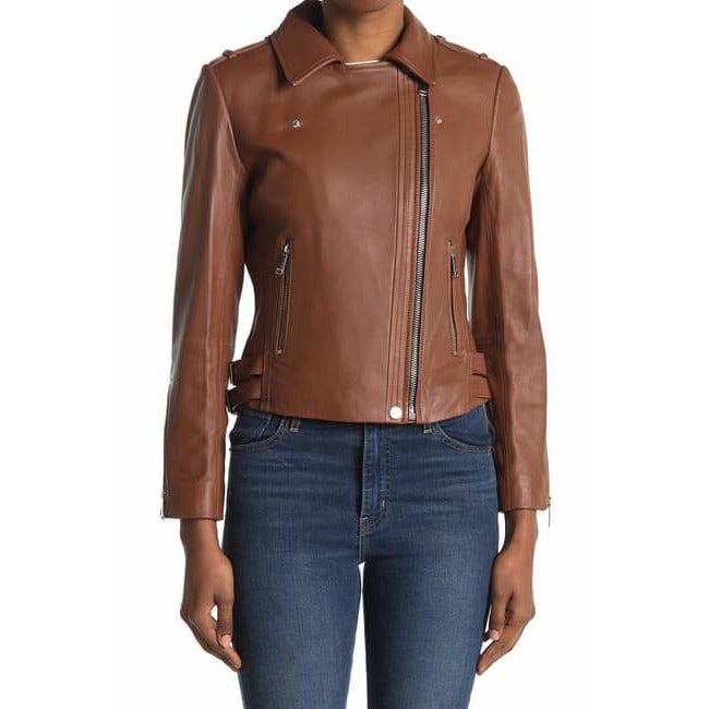 BCBGeneration Women's Moto Leather Jacket