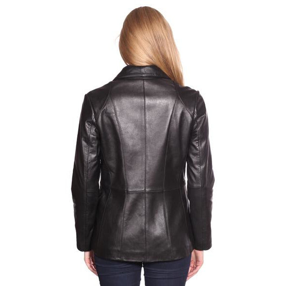 Mason & Cooper Leather Blazer Jacket