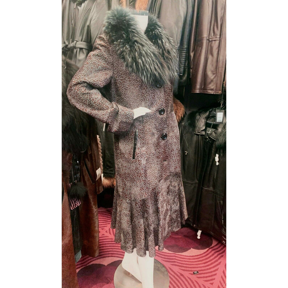 Dolce le Via Pony Fur Coat