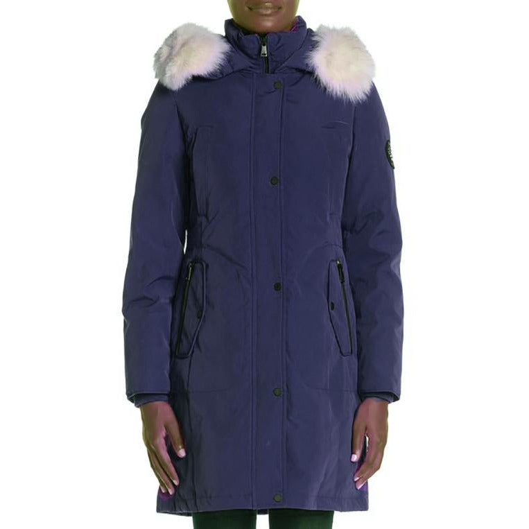I Madison Expedition Down Coat with Real Fur