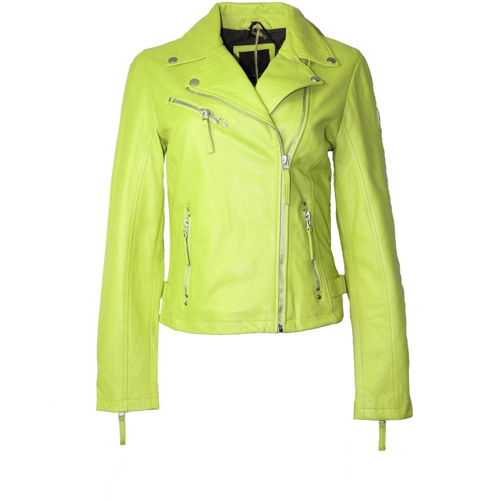 Mauritius Women Motorcycle Leather Jacket
