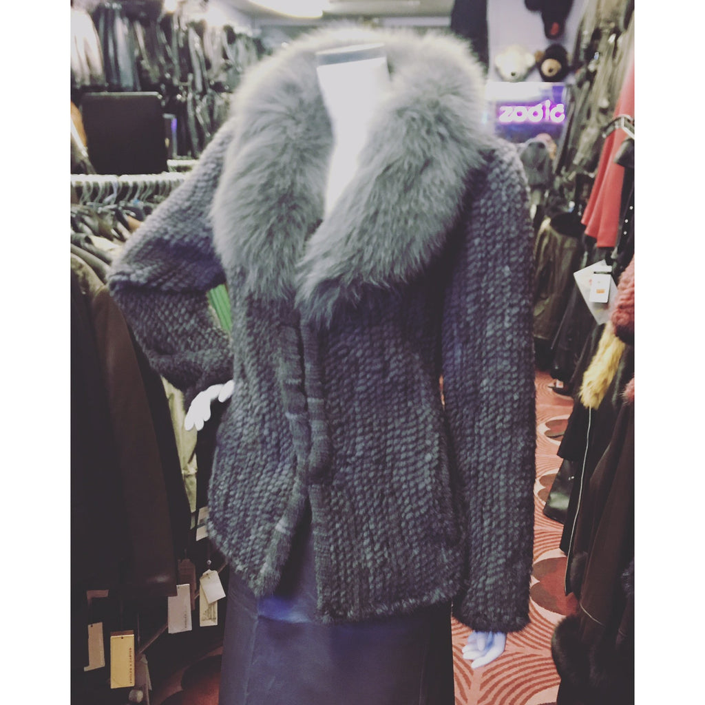 Precila Mink Fur Coat