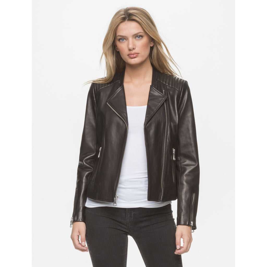 Marc New York Women's Selena Moto Leather Jacket