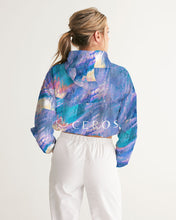 Load image into Gallery viewer, Art Attack Cropped Windbreaker