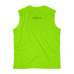 Chimical Lime Men's Sleeveless Performance Dri-fit